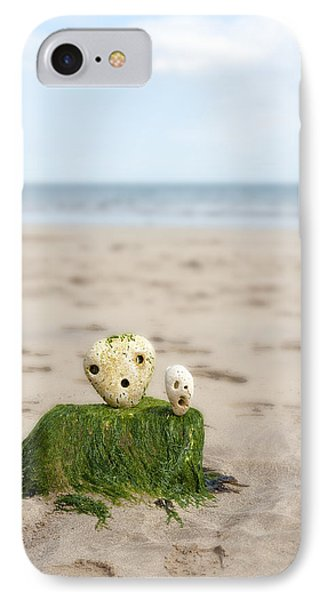 Two On A Beach Phone Case by Svetlana Sewell