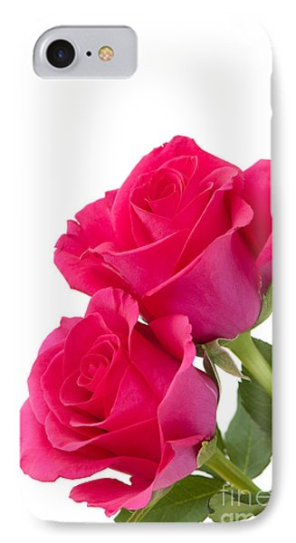 Two Roses Phone Case by Anne Gilbert