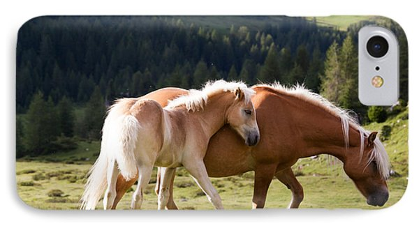 Two Wild Horses IPhone Case by Matteo Colombo