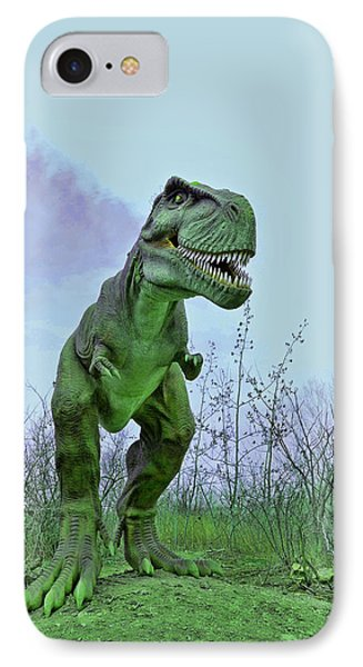 Tyrannosaurus Rex  T- Rex Phone Case by Allen Beatty