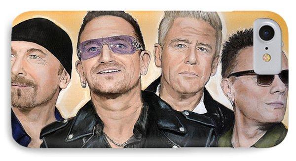 U2 IPhone 7 Case by Melanie D
