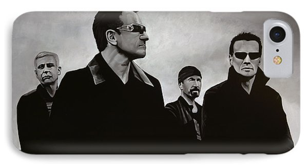 U2 IPhone Case by Paul Meijering