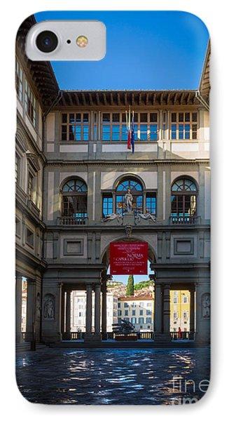 Uffizi Phone Case by Inge Johnsson