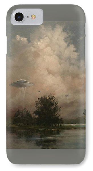 Ufo's - A Scouting Party Phone Case by Tom Shropshire
