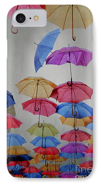 Umbrellas IPhone Case by Jelena Jovanovic