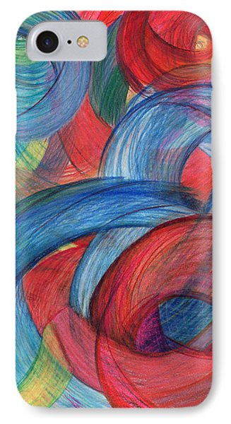 Uncovered Curves-vertical IPhone Case by Kelly K H B