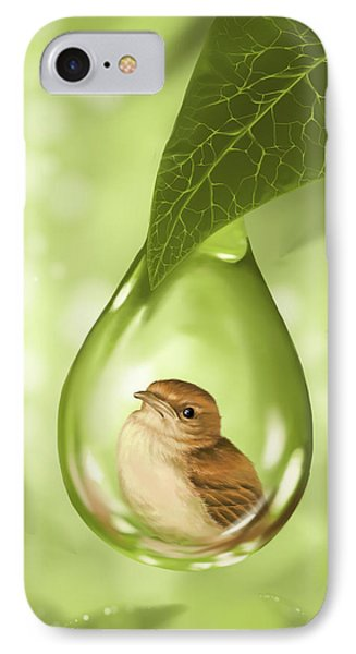 Under Protection IPhone Case by Veronica Minozzi
