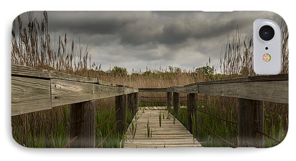 Under The Boardwalk Phone Case by Jonathan Davison