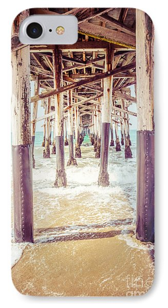 Under The Pier In Southern California Picture IPhone Case by Paul Velgos
