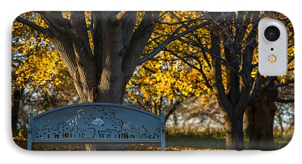 Under The Tree IPhone Case by Sebastian Musial