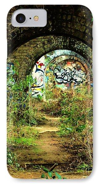 Underneath The Railway Arches Phone Case by C Lythgo