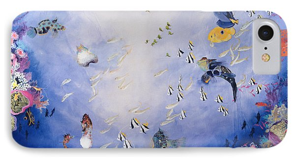 Underwater World Iv  IPhone 7 Case by Odile Kidd