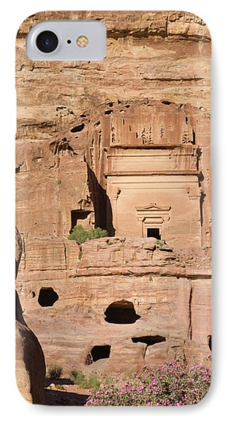 Uneishu Tomb, Petra, Jordan (unesco IPhone Case by Keren Su
