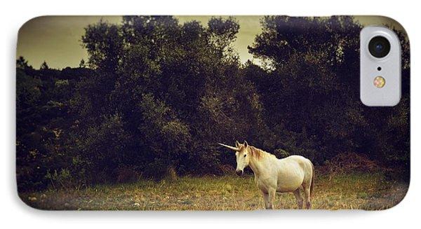 Unicorn IPhone 7 Case by Carlos Caetano