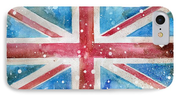 Union Jack IPhone Case by Sean Parnell