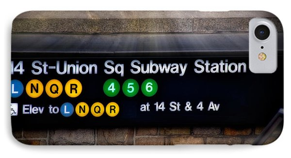 Union Square Subway Station IPhone Case by Susan Candelario