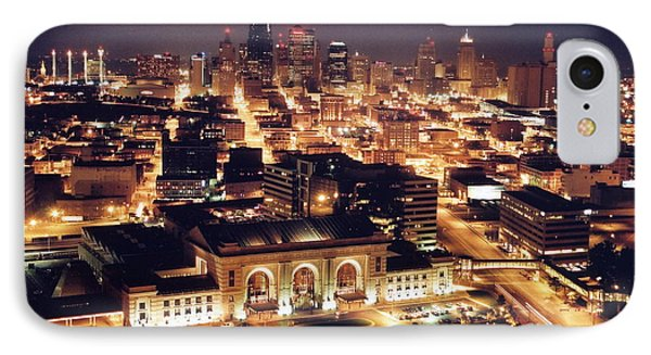 Union Station Night Phone Case by Crystal Nederman