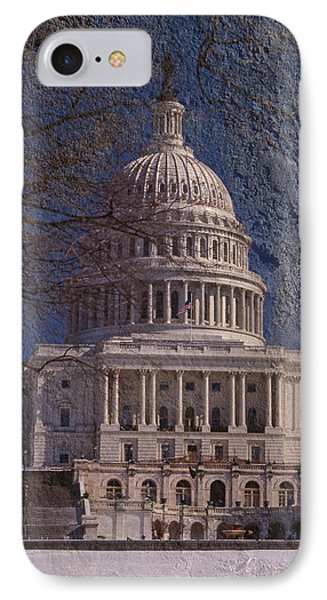 United States Capitol IPhone 7 Case by Skip Willits