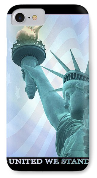United We Stand IPhone Case by Mike McGlothlen