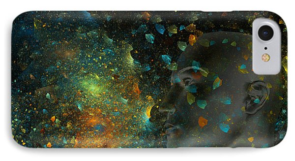 Universal Mind IPhone Case by Betsy Knapp