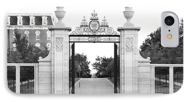 University Of Arkansas Centennial Gate IPhone 7 Case by University Icons