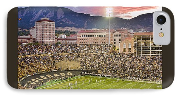 University Of Colorado Boulder Go Buffs IPhone Case by James BO  Insogna