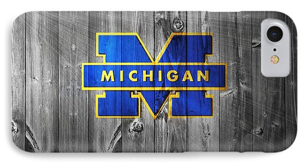 University Of Michigan IPhone 7 Case by Dan Sproul