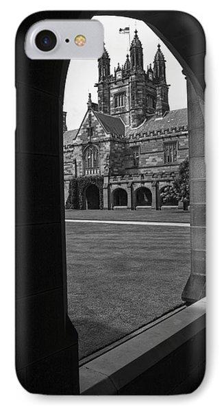 University Of Sydney Quadrangle V3 IPhone Case by Douglas Barnard