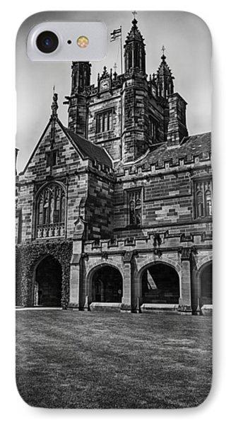 University Of Sydney Quadrangle  V5 IPhone Case by Douglas Barnard