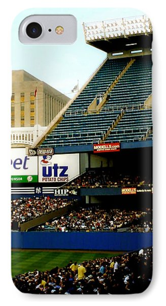 Upper Deck  The Yankee Stadium Phone Case by Iconic Images Art Gallery David Pucciarelli