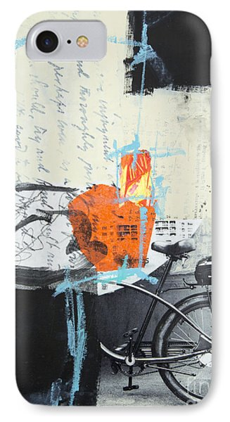 Urban Bicycle IPhone Case by Elena Nosyreva