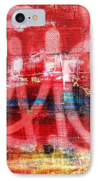 Urban Graffiti Abstract Color IPhone Case by Edward Fielding