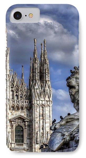 Urban Jungle Milan IPhone 7 Case by Carol Japp
