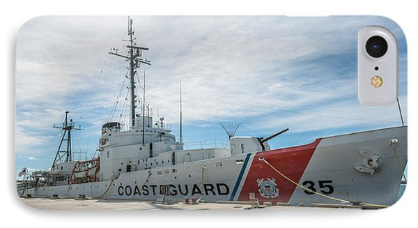 Us Coast Guard Cutter Ingham Whec-35 - Key West - Florida IPhone Case by Ian Monk
