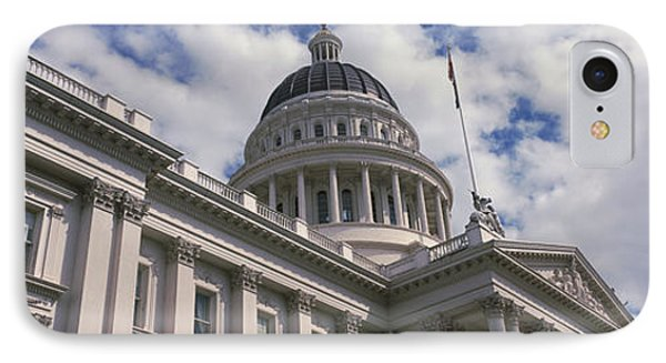 Usa, California, Sacramento, Low Angle IPhone Case by Panoramic Images