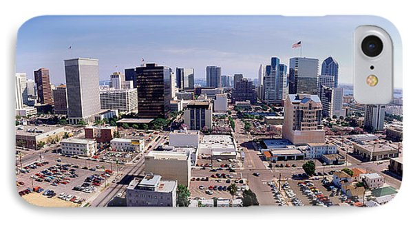 Usa, California, San Diego, Downtown IPhone Case by Panoramic Images