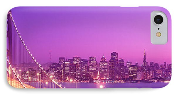 Usa, California, San Francisco, Bay IPhone Case by Panoramic Images