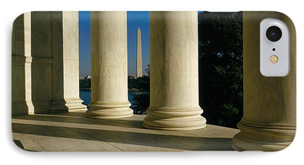 Usa, District Of Columbia, Jefferson IPhone Case by Panoramic Images