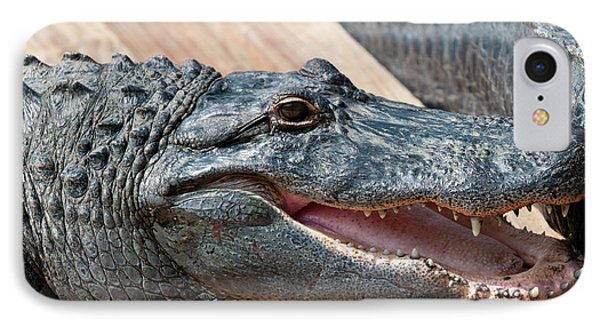 Usa, Florida Gatorland, Florida IPhone 7 Case by Michael Defreitas