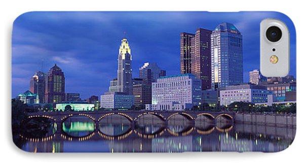 Usa, Ohio, Columbus, Scioto River IPhone Case by Panoramic Images