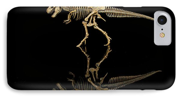 Usa, Tennessee T-rex Skeleton Replica IPhone Case by Jaynes Gallery