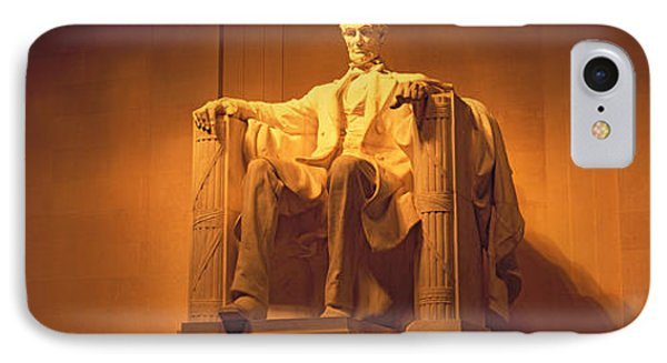 Usa, Washington Dc, Lincoln Memorial IPhone Case by Panoramic Images