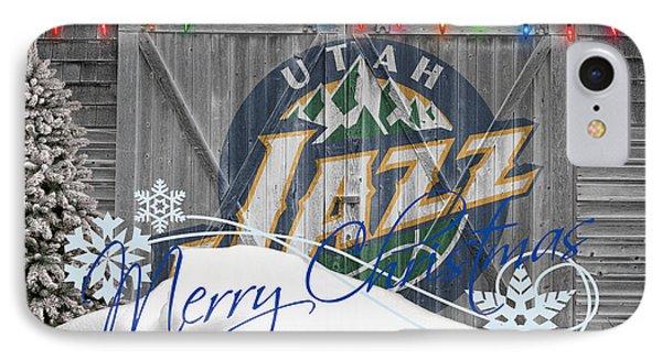 Utah Jazz Phone Case by Joe Hamilton