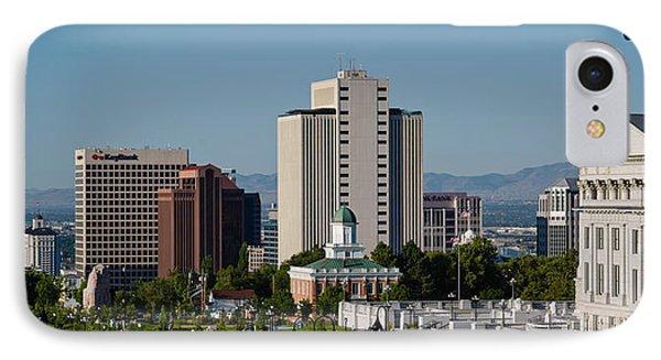 Utah State Capitol Building, Salt Lake IPhone Case by Panoramic Images