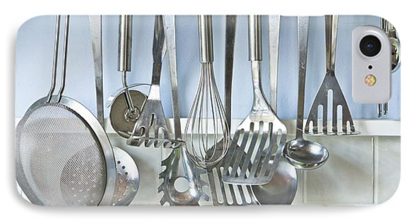 Utensils IPhone Case by Tom Gowanlock