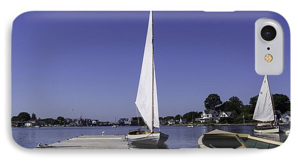 Vacationing In Mystic Phone Case by Joe Geraci