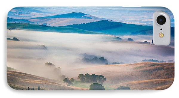 Val D'orcia Enchantment Phone Case by Inge Johnsson