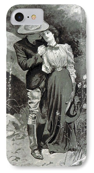 IPhone Case featuring the photograph Valentines Day, 1898 by British Library