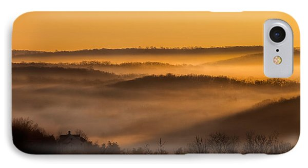 Valley Fog Phone Case by Bill Wakeley