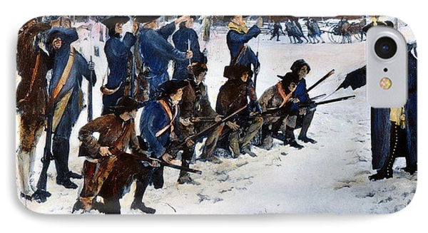 Valley Forge: Steuben, 1778 IPhone Case by Granger